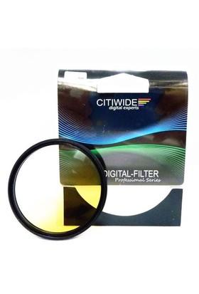 Citiwide 62Mm Gradual Degrade Kademeli Sarı Filtre