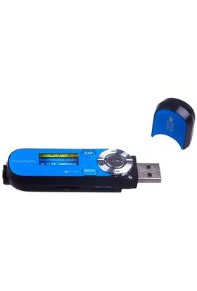 Powerway PW-06 4GB FM Radyo + Ses Kayıt Mp3 Çalar (Li-ion Batarya) - Mavi