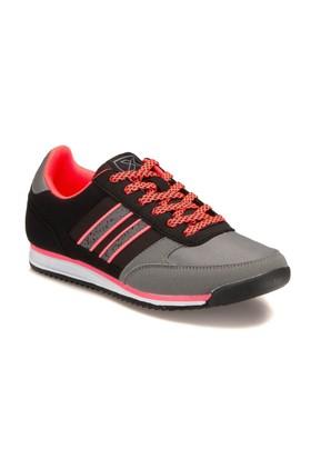 Kinetix A1288305 Siyah Neon Pembe Kadın Sneaker