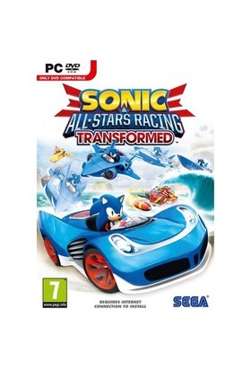 Sega Pc Sonic All Star Racing Transformed