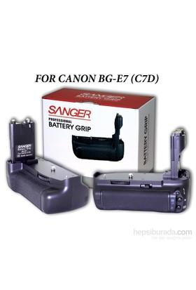 Canon 7D Bg-E7 Sanger Battery Grip