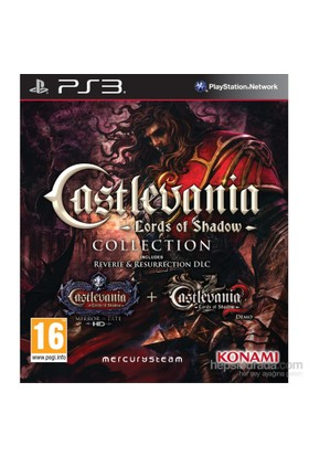 Castlevania Lords of Shadow Collection PS3