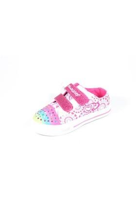 Pink Step Paty-1 Beyaz Çocuk Ayakkabı