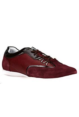 Salvano Bordo Erkek Deri Ayakkabı