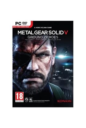 Konami Pc Metal Gear Solıd V Ground Zeroes