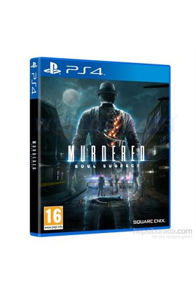 Square Enix Murdered Soul Suspect Ps4 Oyun