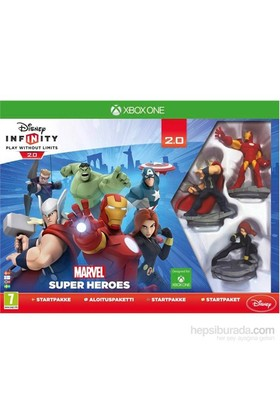 Disney Infinity 2.0 Marvel Starter Pack Xbox One