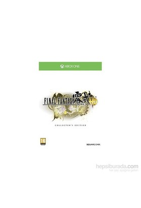 Final Fantasy Type 0 Hd Collectors Edt Xbox One