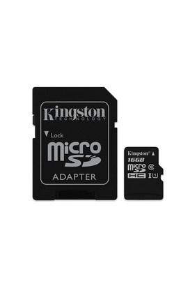 Kingston 16GB MicroSDHC Class10 UHS-I 45MB/s Hafıza Kartı SDC10G2/16GB