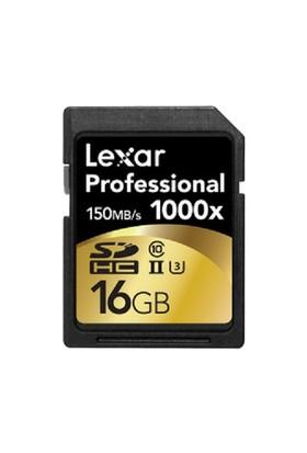 Lexar 16GB 1000x Professional SDHC Hafıza Kartı UHS-II 150MB/sn (LSD16GCRBEU1000)