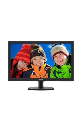 "Philips 223V5LHSB2/01 21.5""5ms (Analog+HDMI) Full HD Led Monitör"
