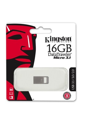 Kingston 16GB DTMICRO 3.1/3.0 Metal USB Bellek DTMC3/16GB