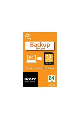 Sony Sn-Ba64 64Gb Backup Sdxc Pc Yedekleme Kartı