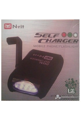N-Rit Self Charger - Fenerli Şarj Cihazı NSC308C (200269)