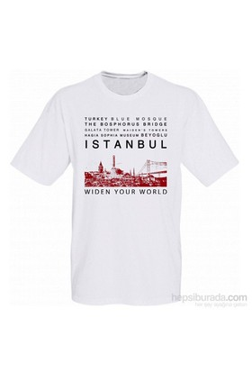 Tk Collection İstanbul T-Shirt Large