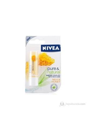 Nivea Lip Pure & Natural Milk Honey