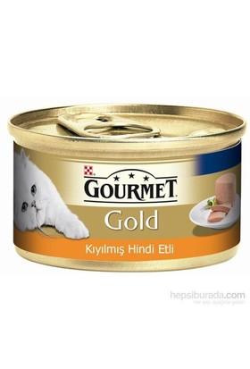 Purina Gourmet Gold Kıyılmış Hindi Etli Konserve Yaş Kedi Maması 85 Gr (1 Adet )
