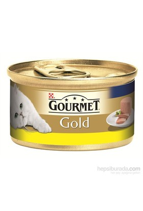 Purina Gourmet Gold Kıyılmış Tavuklu Konserve Yaş Kedi Maması 85 Gr (1 adet )