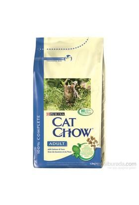 Purina Cat Chow Somonlu Hassas Kedi Maması 1,5 kg
