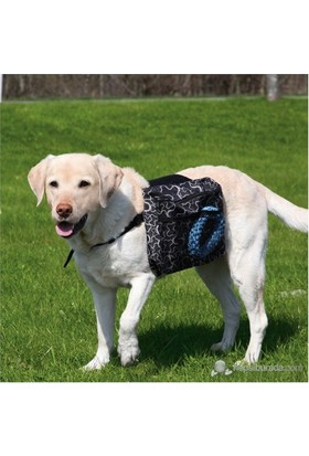 Trixie Köpek Sırt Çantası L 28X18Cm Siyah