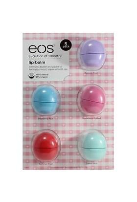 Eos Lip Balm Set 5 Parça
