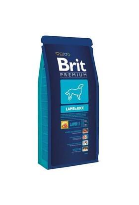 Brit Premium Lamb & Rice Kuzu Ve Pirinçli Yetişkin Köpek Maması 15 Kg