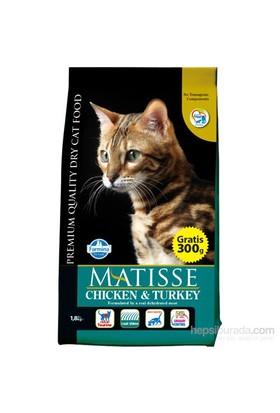 Matisse Tavuk&Hindi&Sebzeli Kuru 1,8 Kg Kedi Maması