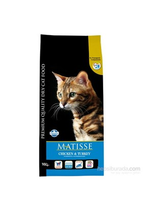 Matisse Tavuk&Hindi&Sebzeli Kuru 10 Kg Kedi Maması