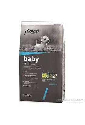 Golosi Dog Baby Mini Tavuk Etli Ve Pirinçli Küçük Irk Yavru Köpek Maması 2 Kg