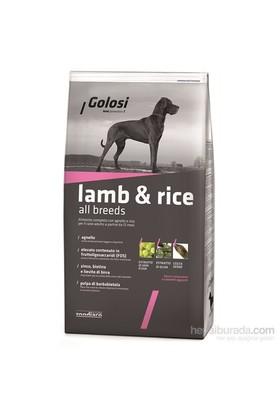 Golosi Dog Kuzu Etli Ve Pirinçli Yetişkin Köpek Maması 12 Kg