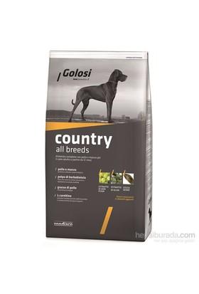 Golosi Dog Country Tavuklu Ve Sığır Etli Yetişkin Köpek Maması 12 Kg