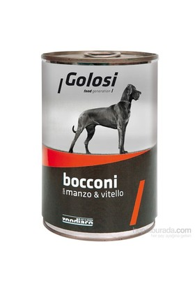Golosi Sığır Ve Dana Etli Köpek Konserve Maması 400 Gr