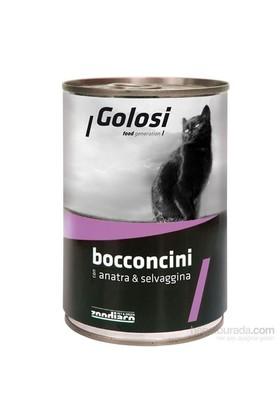Golosi Chunks / Bocconcini Cat Ördek ve Av Hayvanlı Kedi Konservesi 400 Gr