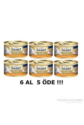 Purina Gourmet Gold Kıyılmış Hindili 85 gr 6 al 5 Öde!