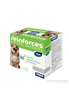 Viyo Reinforces Natural Defences Dog - Senior 7X30ml Besin Takviyesi FD*
