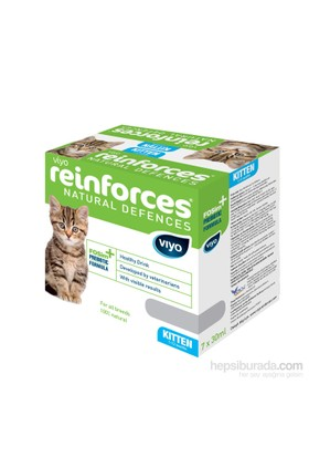 Viyo Reinforces Natural Defences Cat - Kitten 7X30ml Besin Takviyesi