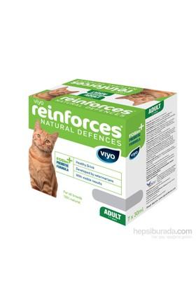 Viyo Reinforces Natural Defences Cat - Adult 7X30ml Besin Takviyesi