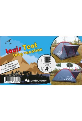 Andoutdoor Louis Igloo 3 Kişilik Çadır