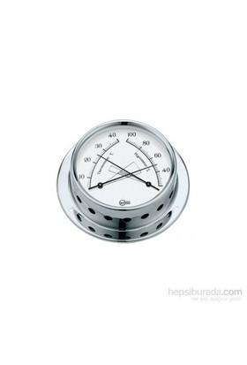 Barigo Tempo S Serisi Gösterge Pirinç Termo-Higrometre