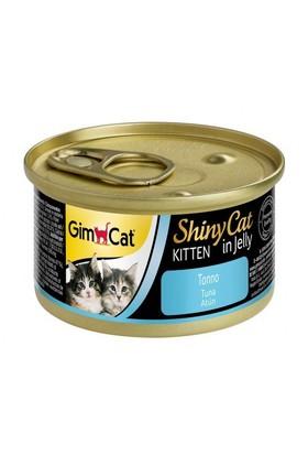 Gimcat Yeni Shinycat Öğünlük Konserve Yavru Kedi Maması-Ton balıklı 70gr