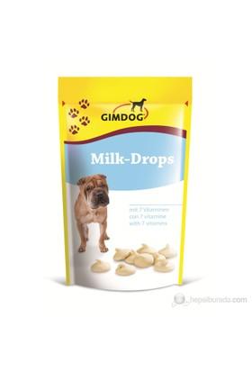 Gimdog Milk Drops - Sütlü Şekersiz Köpek Ödül Tableti 75 gr