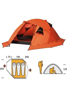 Ferrino Tenda Expe Üç Kişilik Çadır