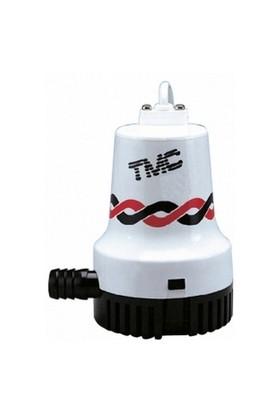 Tmc Sintine Pompası. Kapasite: 1500 Gl/Saat 12Vamper: Basma Yüksekliği: 3.4 M Ebat: 144X120x164 Mm
