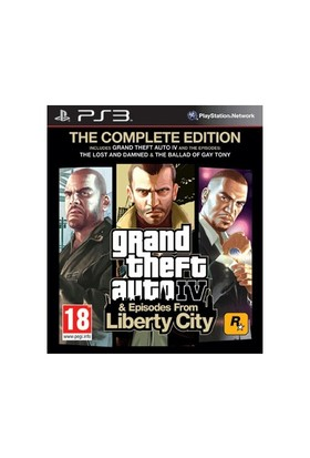 Grand Theft Auto 4: Complete Edition PS3