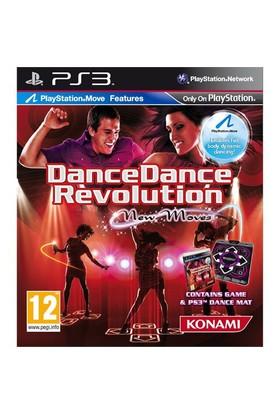 Dance dance rev. New moves+mat psx3