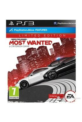 Need For Speed Most Wanted 2012Limited Edition PS3