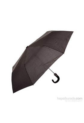 Biggbrella 10321Q172A Otomatik Şemsiye Kareli