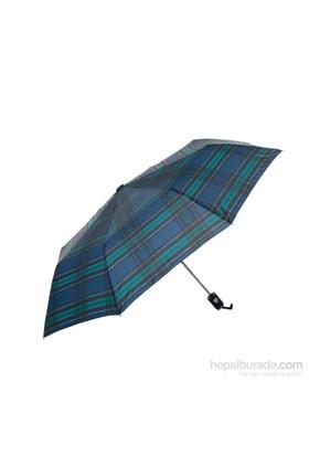 Biggbrella 1088Prblue Desenli Şemsiye Mavi