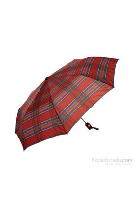 Biggbrella 1088Prred Desenli Şemsiye Kırmızı