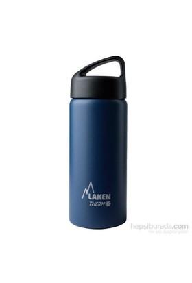 Laken Çelik Klasik Termos Şişe 0,50L Mavi